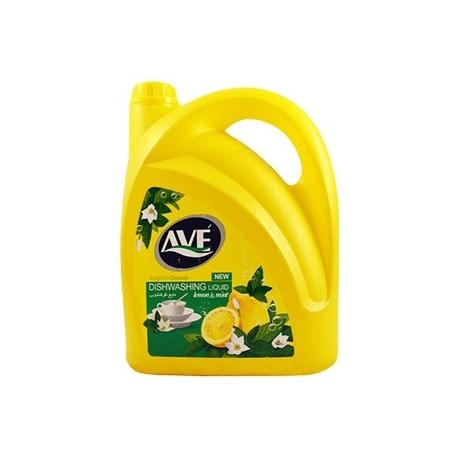 مایع ظرف شویی اوه 4 لیتری لیمو