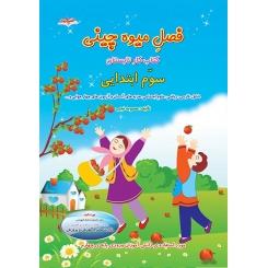 کتاب کار تابستان سوم ابتدایی فصل میوه چینی
