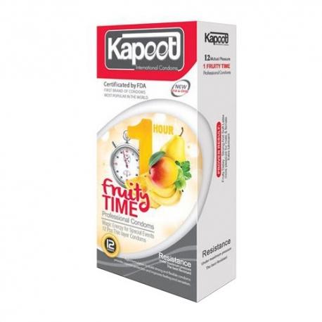 کاندوم تاخیری میوه ای کاپوت | جی شاپ