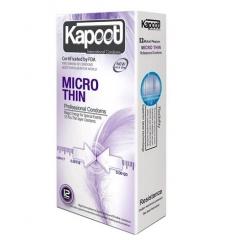 کاندوم خیلی نازک میکروتین کاپوت 12 عددی