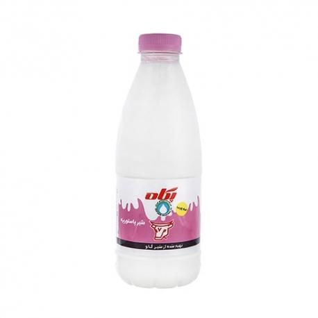 شیر نیم چرب پگاه 1 لیتری