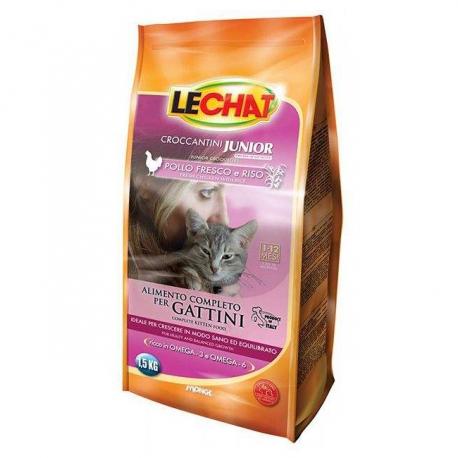 غذای خشک بچه گربه لچت با طعم مرغ و برنج | جی شاپ