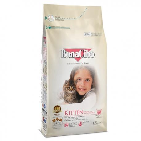 غذای خشک بچه گربه بوناسیبو | جی شاپ