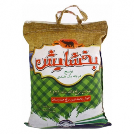 برنج هندی دانه بلند بخشایش 10 کیلوگرم | جی شاپ