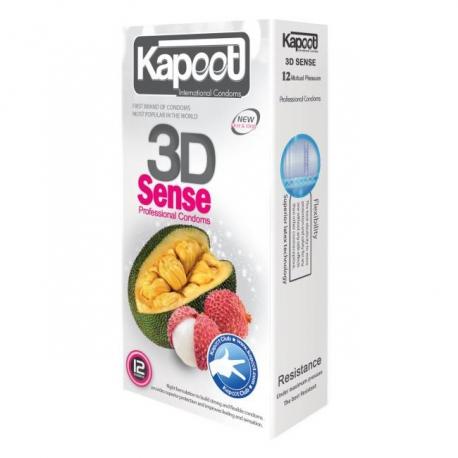 کاندوم سه بعدی میوه های وحشی کاپوت