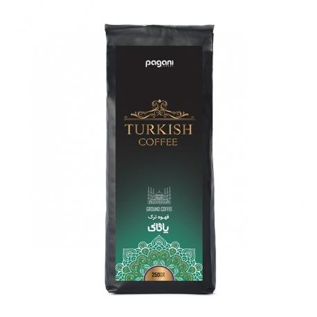 پودر قهوه ترک پاگانی تکسو 250 گرمی | جی شاپ