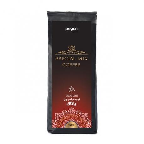 پودر قهوه میکس ویژه پاگانی تکسو 250 گرمی | جی شاپ