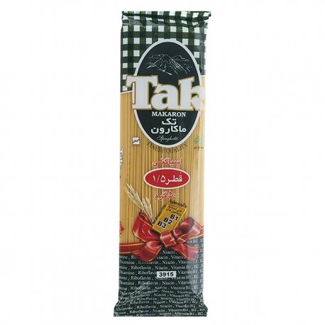 اسپاگتی تک ماکارون قطر 1.5 بسته 500 گرمی | جی شاپ