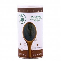پودر فلفل سیاه آر اس رویال 120 گرمی ارگانیک