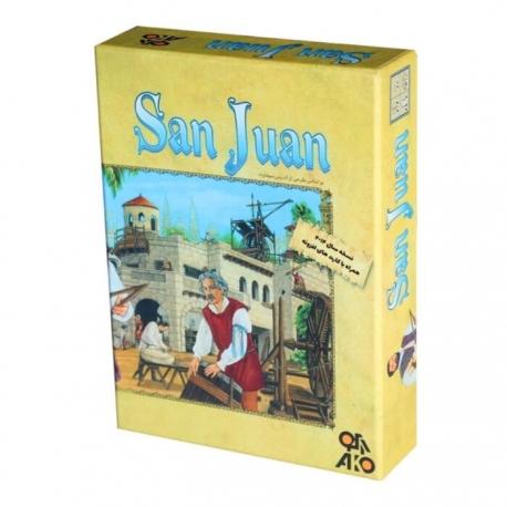 بازی فکری بزرگسال و برد گیم سن خوان San Juan | جی شاپ