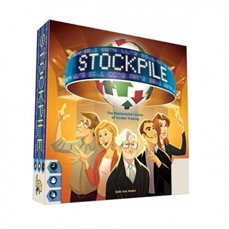 بازی فکری بزرگسال و برد گیم فرابورس Stockpile | جی شاپ