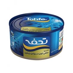 کنسرو ماهی تن در روغن تحفه 180 گرمی