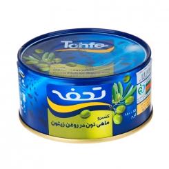 کنسرو ماهی تن در روغن زیتون تحفه 180 گرمی