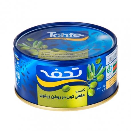 کنسرو ماهی تن در روغن زیتون تحفه 180 گرمی | جی شاپ