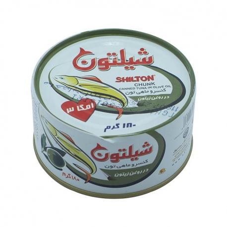 کنسرو ماهی تن در روغن زیتون شیلتون 180 گرمی | جی شاپ