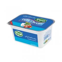 پنیر سفید ایرانی فتا صباح 400 گرمی پاستوریزه و هموژنیزه