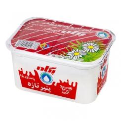 پنیر سفید پاستوریزه و هموژنیزه پگاه 300 گرمی نسبتا چرب