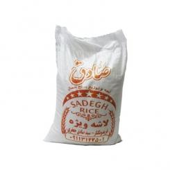 برنج نیم دانه صادق فریدون کنار 10 کیلوگرم