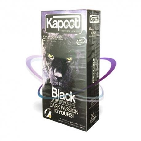 کاندوم مشکی بسیار امن کاپوت | جی شاپ