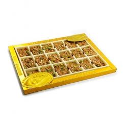 سوهان معراج لقمه عسلی 350 گرمی طلایی