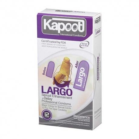 کاندوم حجم دهنده لارگو کاپوت | جی شاپ