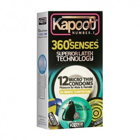 کاندوم خیلی نازک 360 درجه کاپوت | جی شاپ