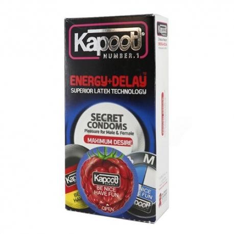 کاندوم انرژی تاخیری کاپوت | جی شاپ