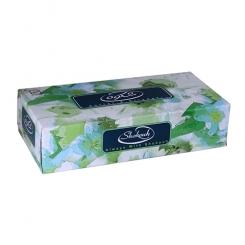 دستمال کاغذی 100 برگ شکوه (200 برگ دولا شده)