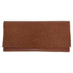 کیف پول چرمی زنانه دست دوز
