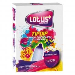 کاندوم رنگی لوتوس 12 عددی