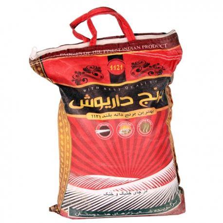 برنج هندی دانه بلند داریوش 10 کیلوگرم | جی شاپ