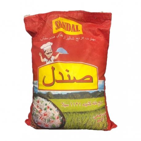 برنج هندی دانه بلند صندل 10 کیلوگرم | جی شاپ