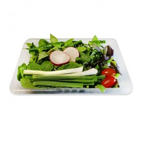 سبزی خوردن آماده پاک شده بسته | جی شاپ
