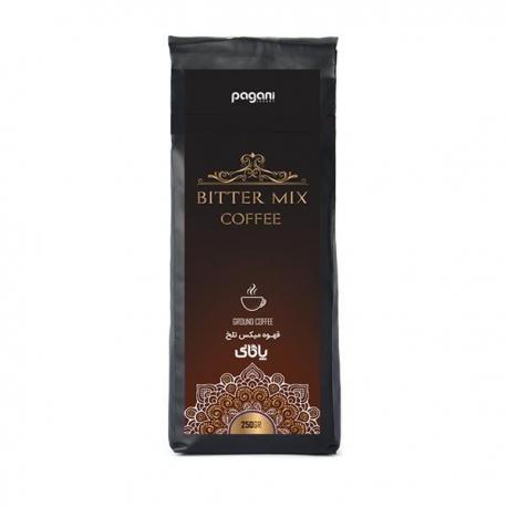 پودر قهوه میکس تلخ پاگانی تکسو 250 گرمی | جی شاپ