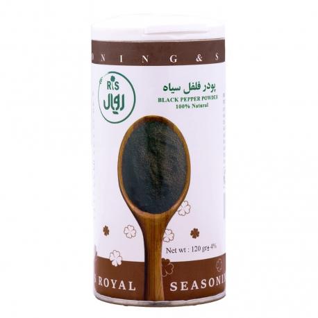 پودر فلفل سیاه آر اس رویال 120 گرمی ارگانیک | جی شاپ