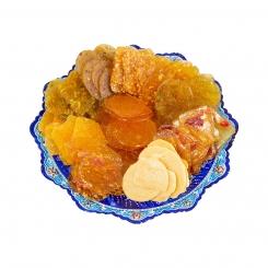 پولکی لیمویی بسته 400 گرمی