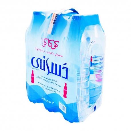 آب آشامیدنی دسانی شل 6 عددی یک و نیم لیتری | جی شاپ