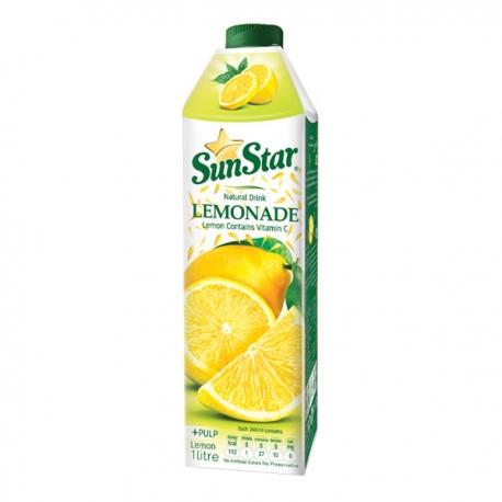 نوشیدنی طبیعی لیموناد سان استار 1 لیتری | جی شاپ