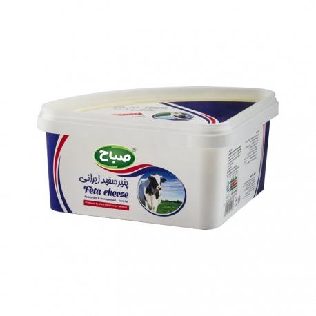 پنیر سفید ایرانی فتا صباح 600 گرمی نسبتا چرب | جی شاپ