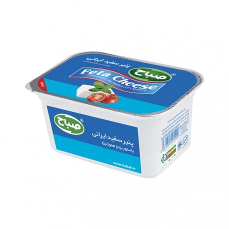 پنیر سفید ایرانی فتا صباح 400 گرمی پاستوریزه و هموژنیزه | جی شاپ