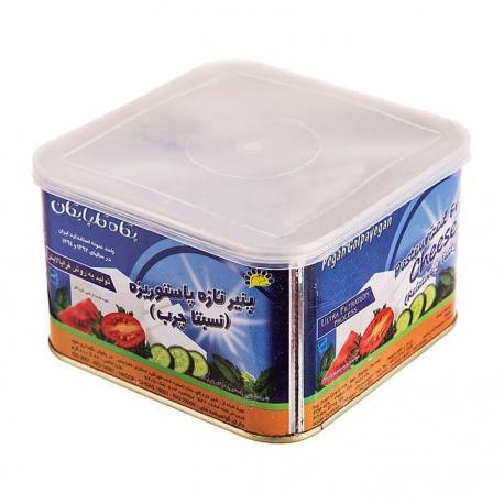 پنیر تازه نسبتا چرب پگاه حلب 800 گرمی پاستوریزه و هموژنیزه | جی شاپ