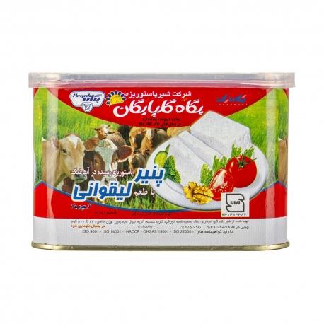 پنیر لیقوانی پگاه حلب 800 گرمی پاستوریزه رسیده در آب نمک | جی شاپ