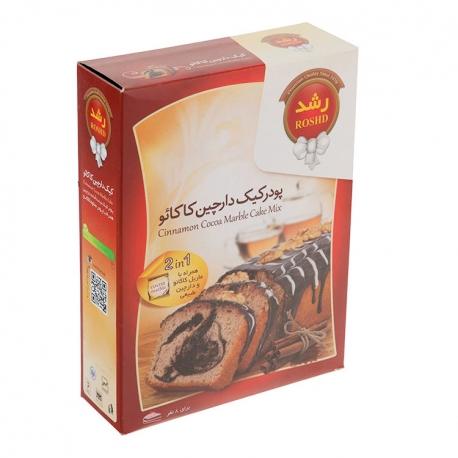 پودر کیک دارچین کاکائو رشد 500 گرمی 8 نفره | جی شاپ