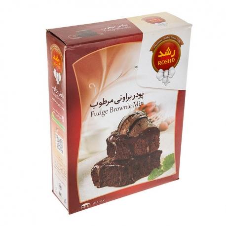 پودر کیک براونی مرطوب رشد 500 گرمی 8 نفره | جی شاپ