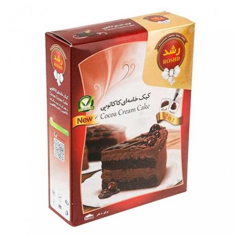 پودر کیک خامه ای کاکائویی رشد 500 گرمی 8 نفره | جی شاپ