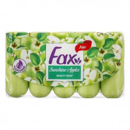 صابون فاکس عصاره سیب 70 گرمی بسته 5 عددی | جی شاپ